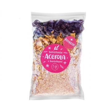 Proteinová superkaše Acerola s Borůvkami 70 g