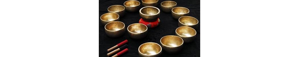 Tibetské mísy & Zvonky